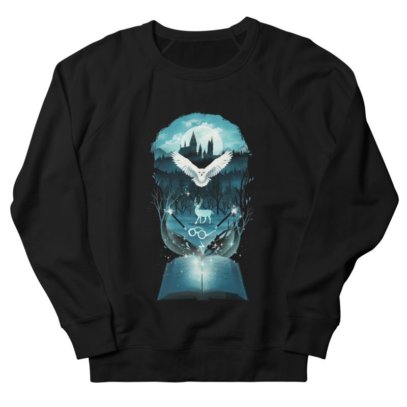 Book of Fantasy Men's Sweatshirt by dandingeroz's Artist Shop