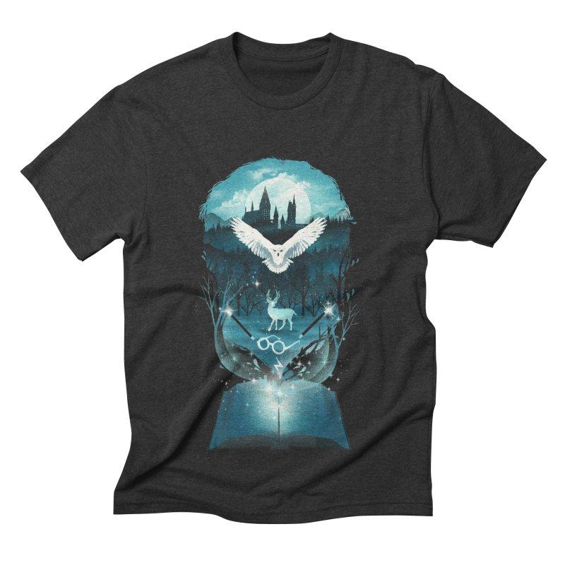 Book of Fantasy Men's Triblend T-shirt by dandingeroz's Artist Shop