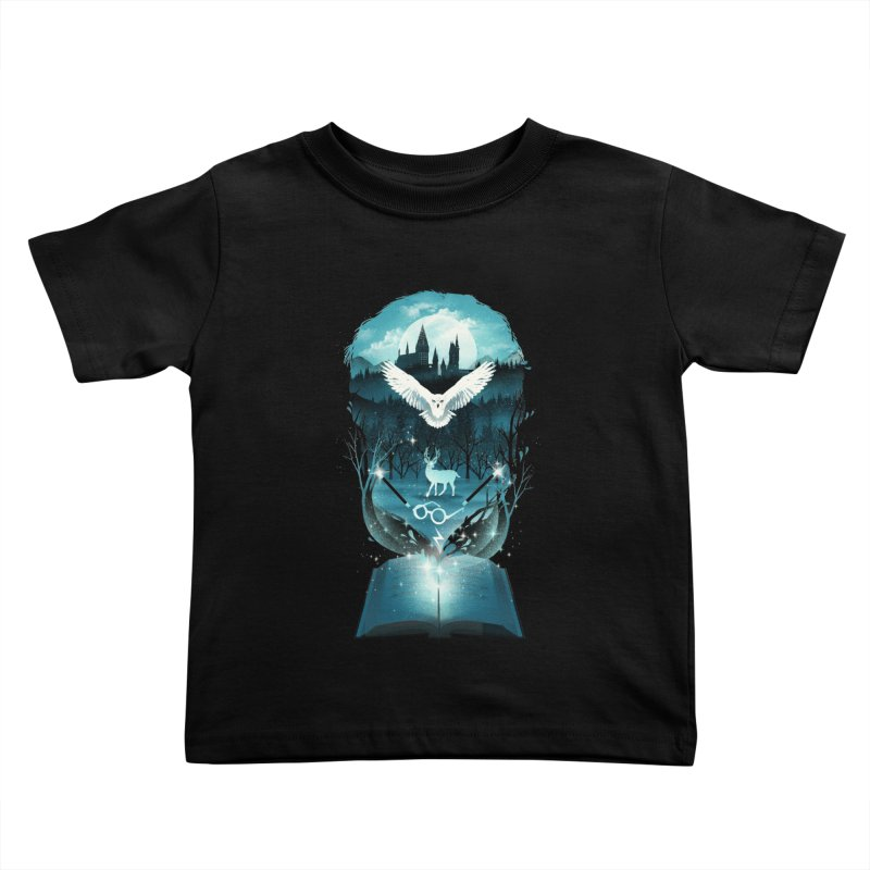 Book of Fantasy Kids Toddler T-Shirt by dandingeroz's Artist Shop