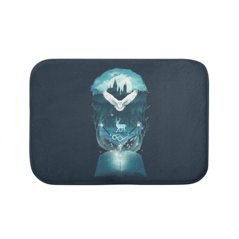 Book of Fantasy Home Bath Mat by dandingeroz's Artist Shop