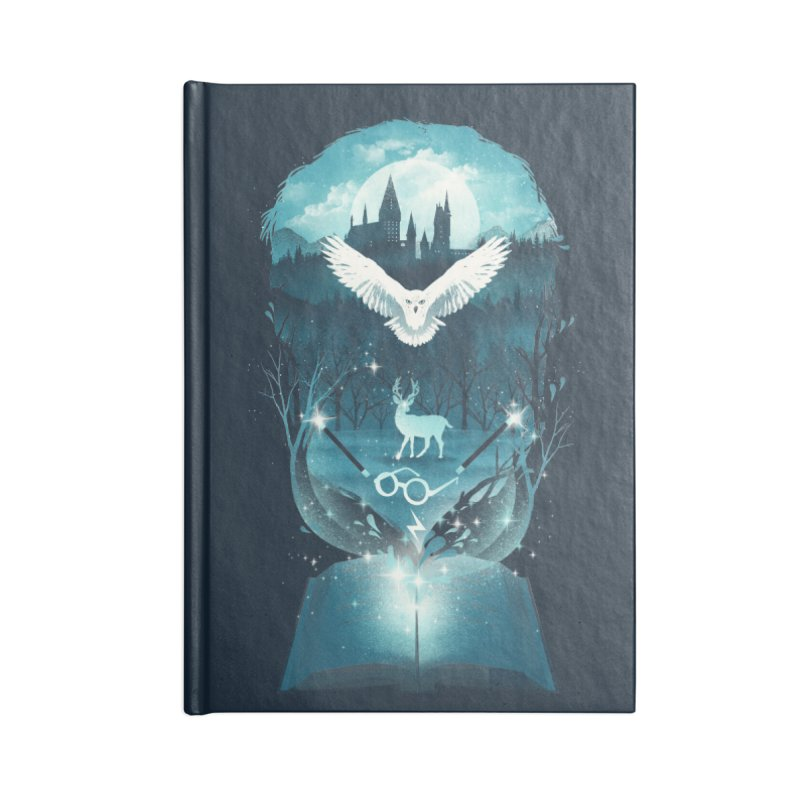 Book of Fantasy Accessories Notebook by dandingeroz's Artist Shop