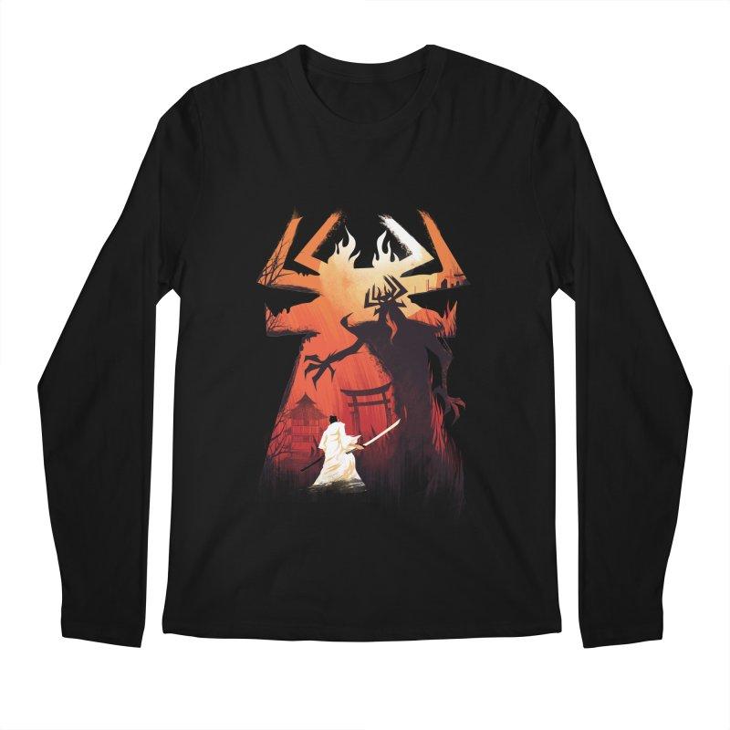 The Great Battle Men's Longsleeve T-Shirt by dandingeroz's Artist Shop