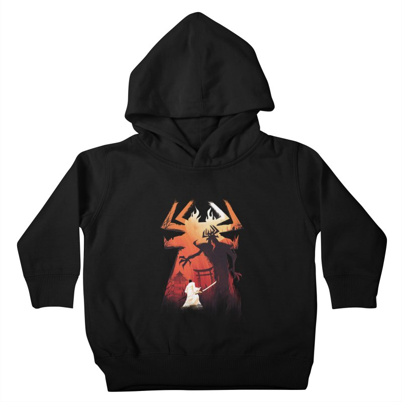 The Great Battle Kids Toddler Pullover Hoody by dandingeroz's Artist Shop