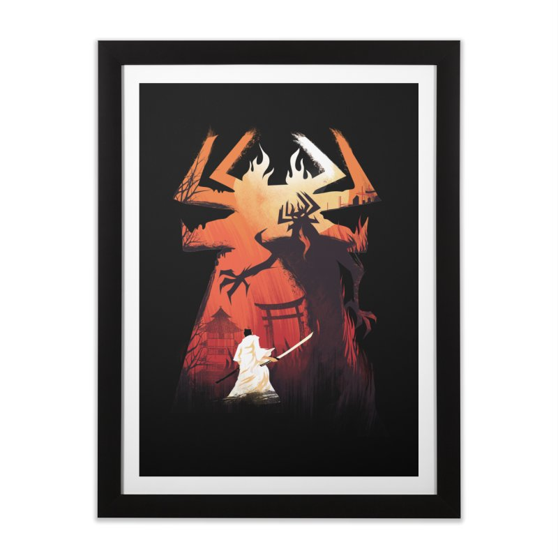 The Great Battle Home Framed Fine Art Print by dandingeroz's Artist Shop