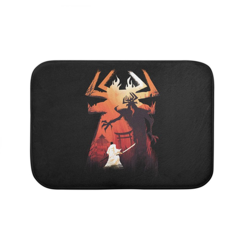 The Great Battle Home Bath Mat by dandingeroz's Artist Shop