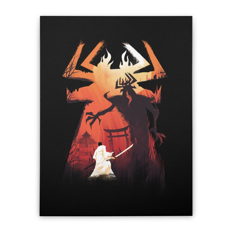 The Great Battle Home Stretched Canvas by dandingeroz's Artist Shop