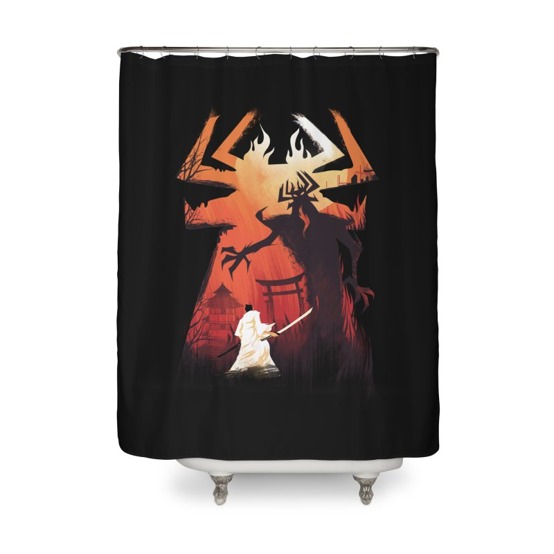 The Great Battle Home Shower Curtain by dandingeroz's Artist Shop
