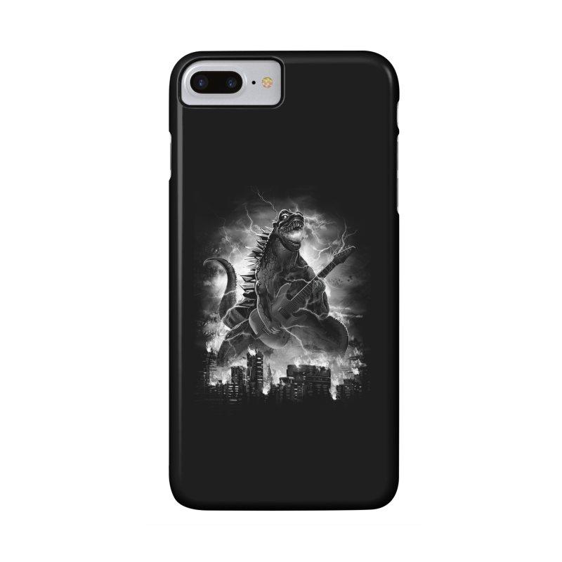 Rockzilla Accessories Phone Case by dandingeroz's Artist Shop