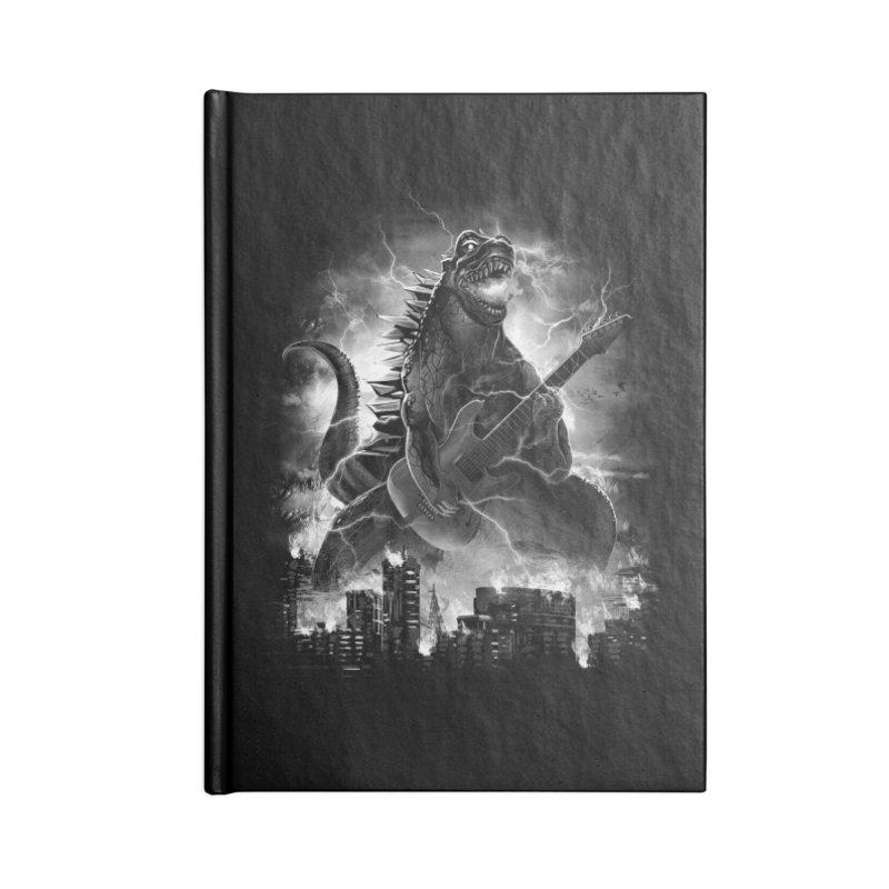 Rockzilla Accessories Notebook by dandingeroz's Artist Shop