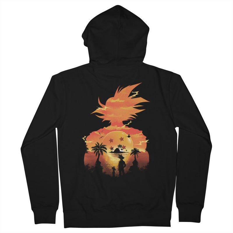 Beautiful Sunset Men's Zip-Up Hoody by dandingeroz's Artist Shop