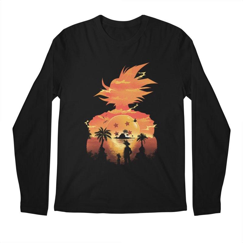 Beautiful Sunset Men's Longsleeve T-Shirt by dandingeroz's Artist Shop