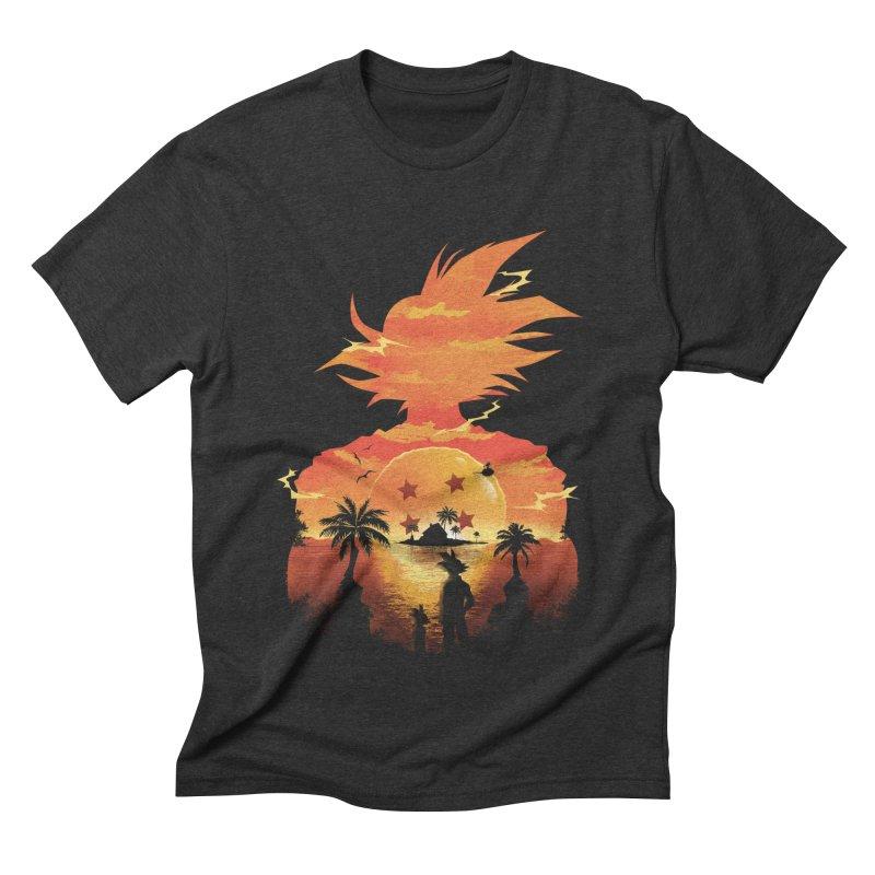 Beautiful Sunset Men's Triblend T-shirt by dandingeroz's Artist Shop