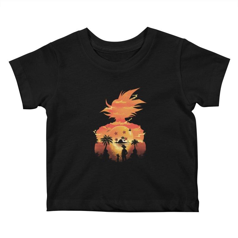 Beautiful Sunset Kids Baby T-Shirt by dandingeroz's Artist Shop