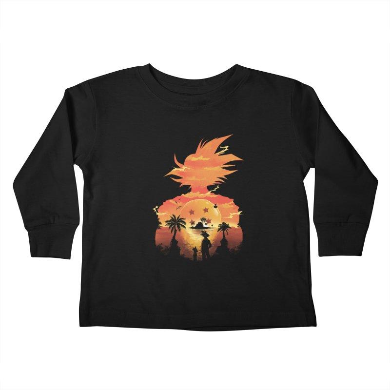Beautiful Sunset Kids Toddler Longsleeve T-Shirt by dandingeroz's Artist Shop