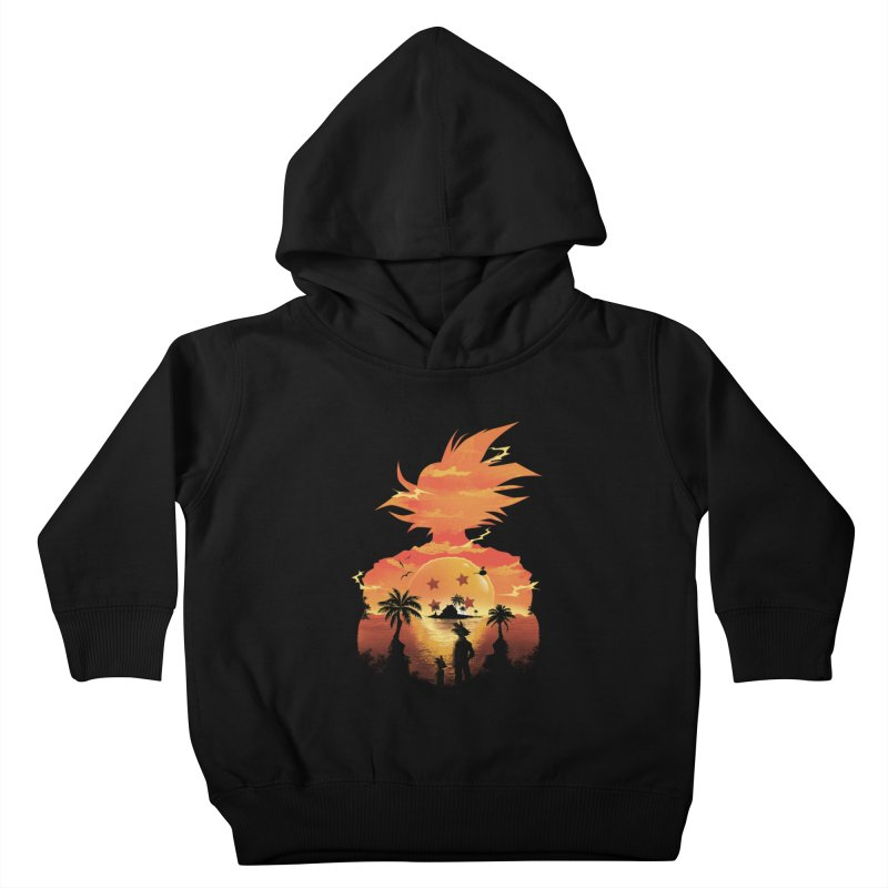 Beautiful Sunset Kids Toddler Pullover Hoody by dandingeroz's Artist Shop