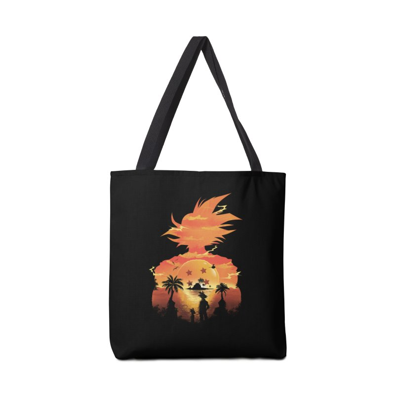 Beautiful Sunset Accessories Bag by dandingeroz's Artist Shop