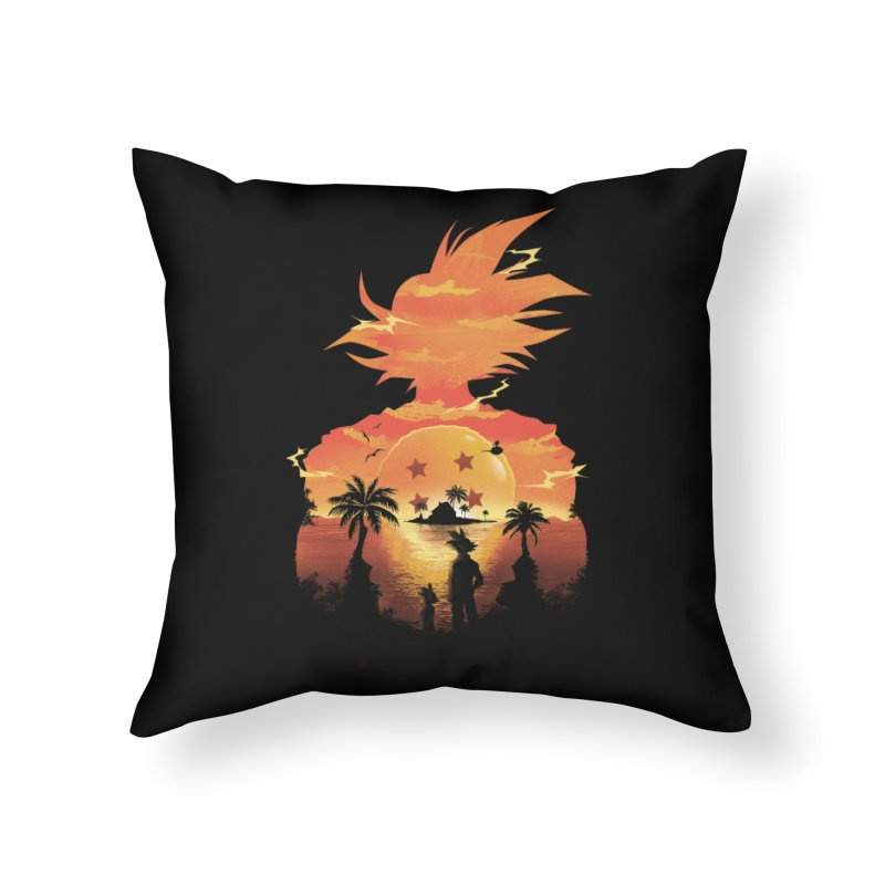 Beautiful Sunset Home Throw Pillow by dandingeroz's Artist Shop
