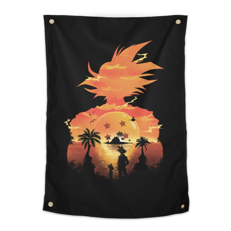 Beautiful Sunset Home Tapestry by dandingeroz's Artist Shop