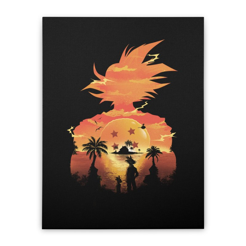 Beautiful Sunset Home Stretched Canvas by dandingeroz's Artist Shop