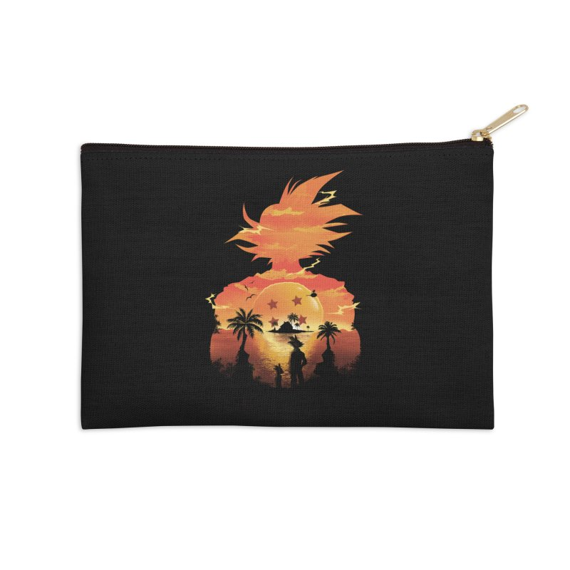 Beautiful Sunset Accessories Zip Pouch by dandingeroz's Artist Shop