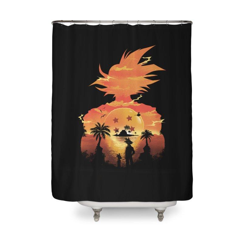 Beautiful Sunset Home Shower Curtain by dandingeroz's Artist Shop