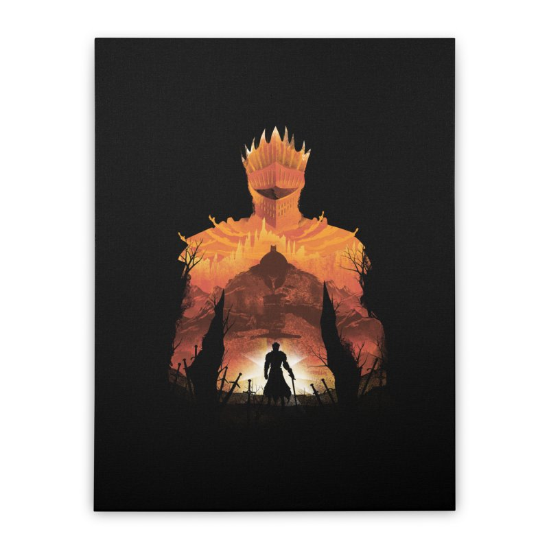 Time to Praise the Sun Home Stretched Canvas by dandingeroz's Artist Shop