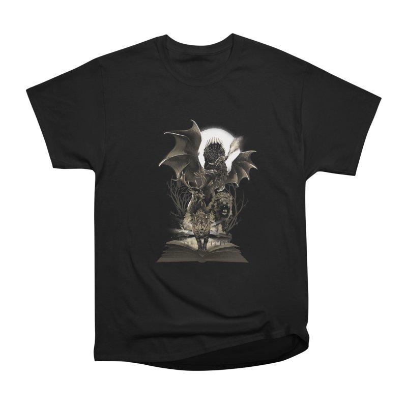 Book of Kingdom Men's T-Shirt by dandingeroz's Artist Shop