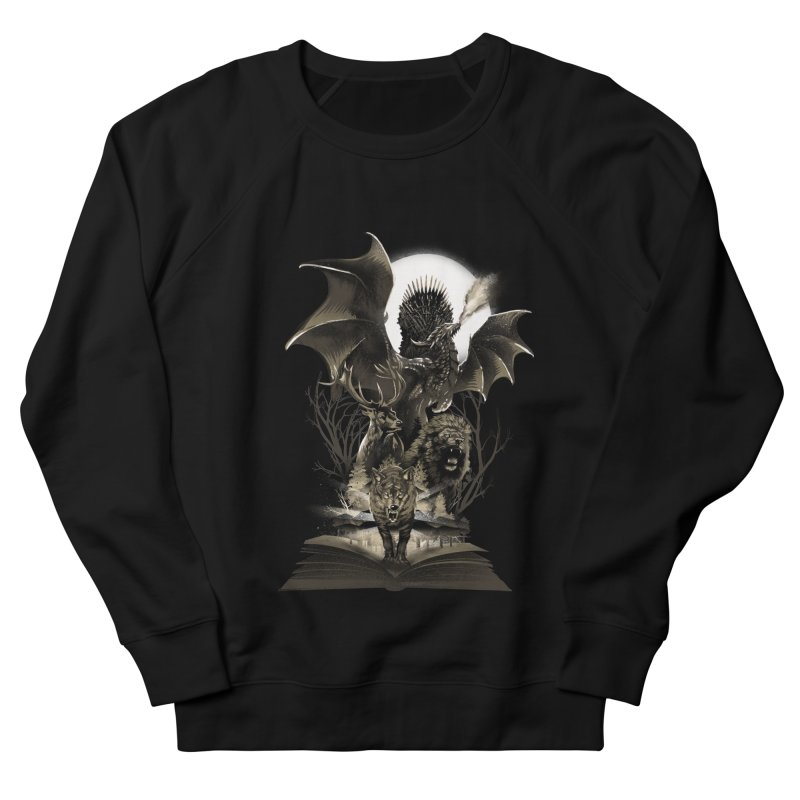 Book of Kingdom Men's Sweatshirt by dandingeroz's Artist Shop