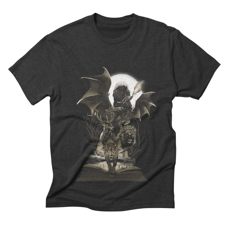 Book of Kingdom Men's Triblend T-shirt by dandingeroz's Artist Shop