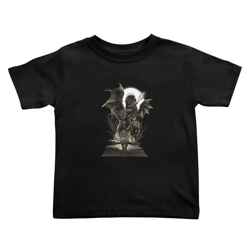 Book of Kingdom Kids Toddler T-Shirt by dandingeroz's Artist Shop
