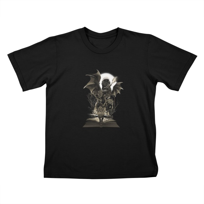 Book of Kingdom Kids T-Shirt by dandingeroz's Artist Shop