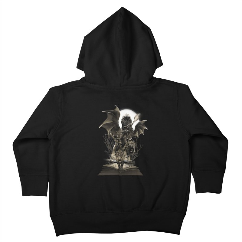 Book of Kingdom Kids Toddler Zip-Up Hoody by dandingeroz's Artist Shop