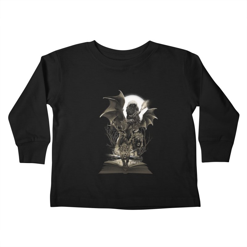 Book of Kingdom Kids Toddler Longsleeve T-Shirt by dandingeroz's Artist Shop