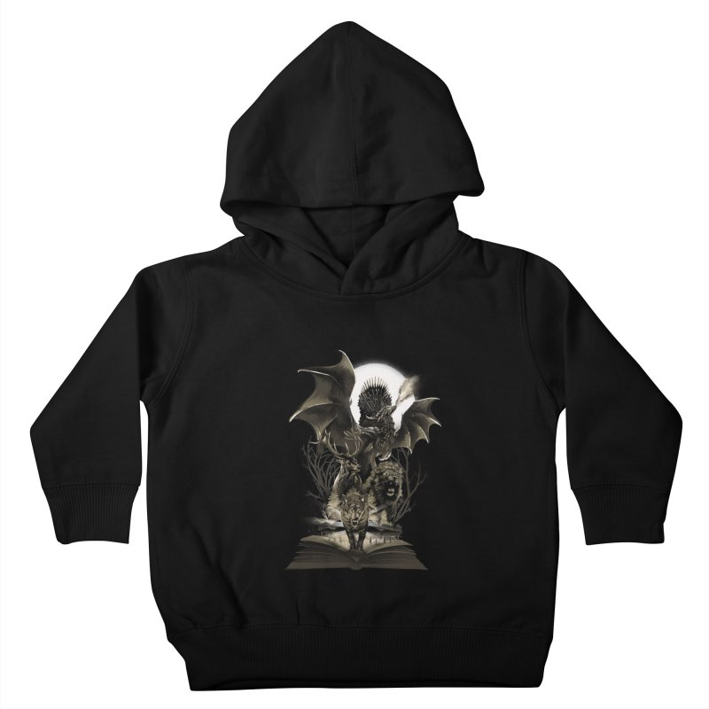 Book of Kingdom Kids Toddler Pullover Hoody by dandingeroz's Artist Shop