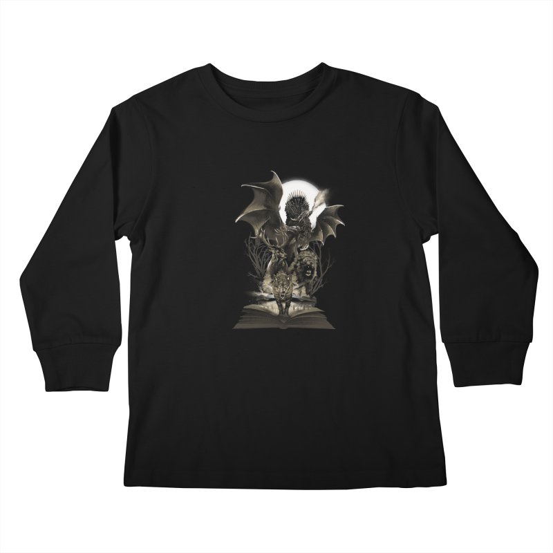 Book of Kingdom Kids Longsleeve T-Shirt by dandingeroz's Artist Shop