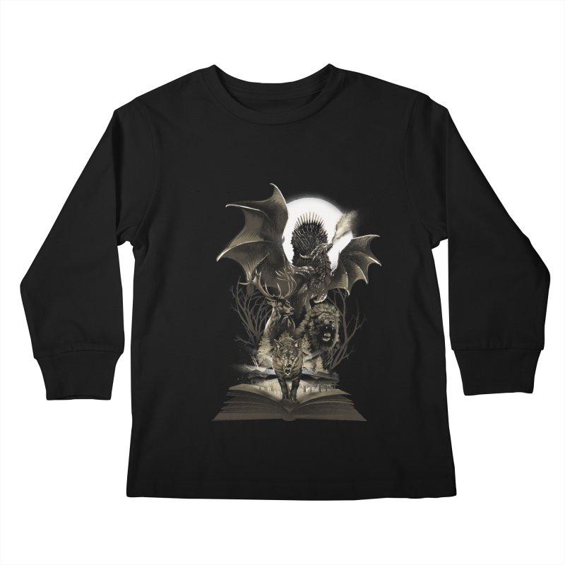 Book of Kingdom Kids Longsleeve T-Shirt by dandingeroz's Artist Shop