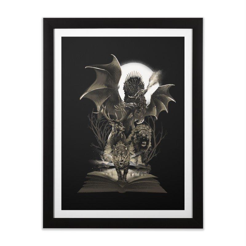 Book of Kingdom Home Framed Fine Art Print by dandingeroz's Artist Shop