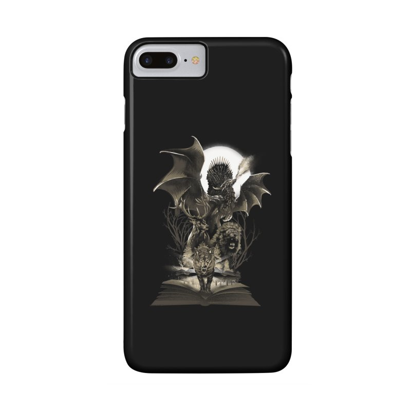 Book of Kingdom Accessories Phone Case by dandingeroz's Artist Shop