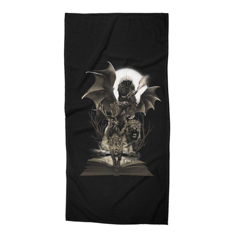Book of Kingdom Accessories Beach Towel by dandingeroz's Artist Shop