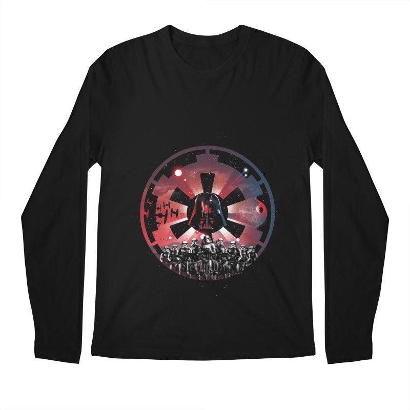 The Empire Rises Men's Longsleeve T-Shirt by dandingeroz's Artist Shop