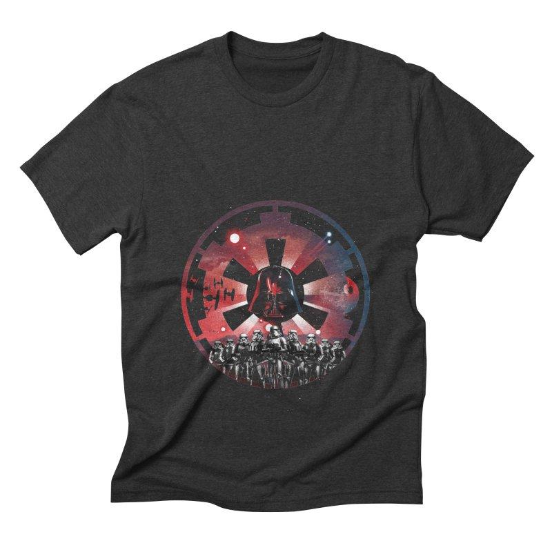 The Empire Rises Men's Triblend T-Shirt by dandingeroz's Artist Shop