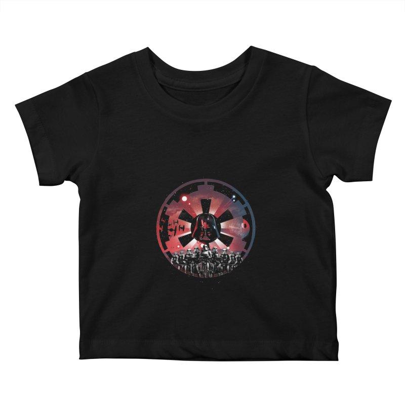 The Empire Rises Kids Baby T-Shirt by dandingeroz's Artist Shop