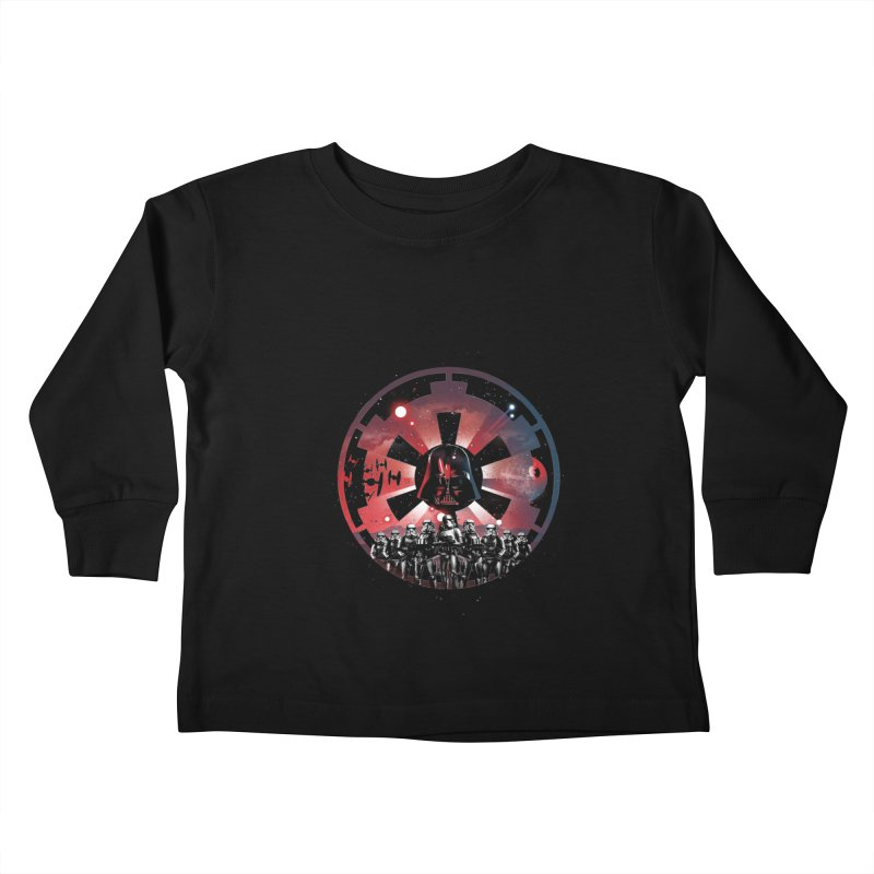 The Empire Rises Kids Toddler Longsleeve T-Shirt by dandingeroz's Artist Shop