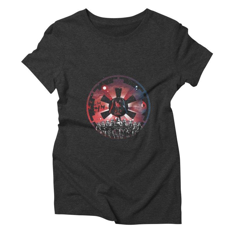 The Empire Rises Women's Triblend T-Shirt by dandingeroz's Artist Shop