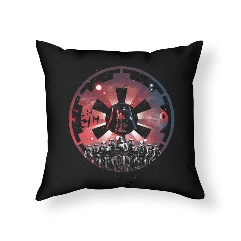 The Empire Rises Home Throw Pillow by dandingeroz's Artist Shop