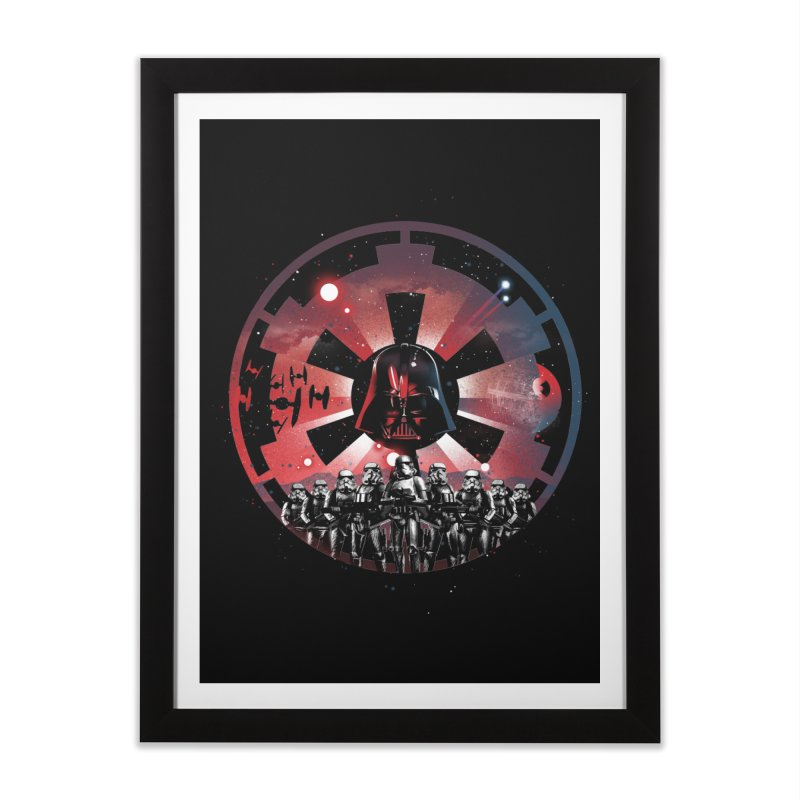 The Empire Rises Home Framed Fine Art Print by dandingeroz's Artist Shop