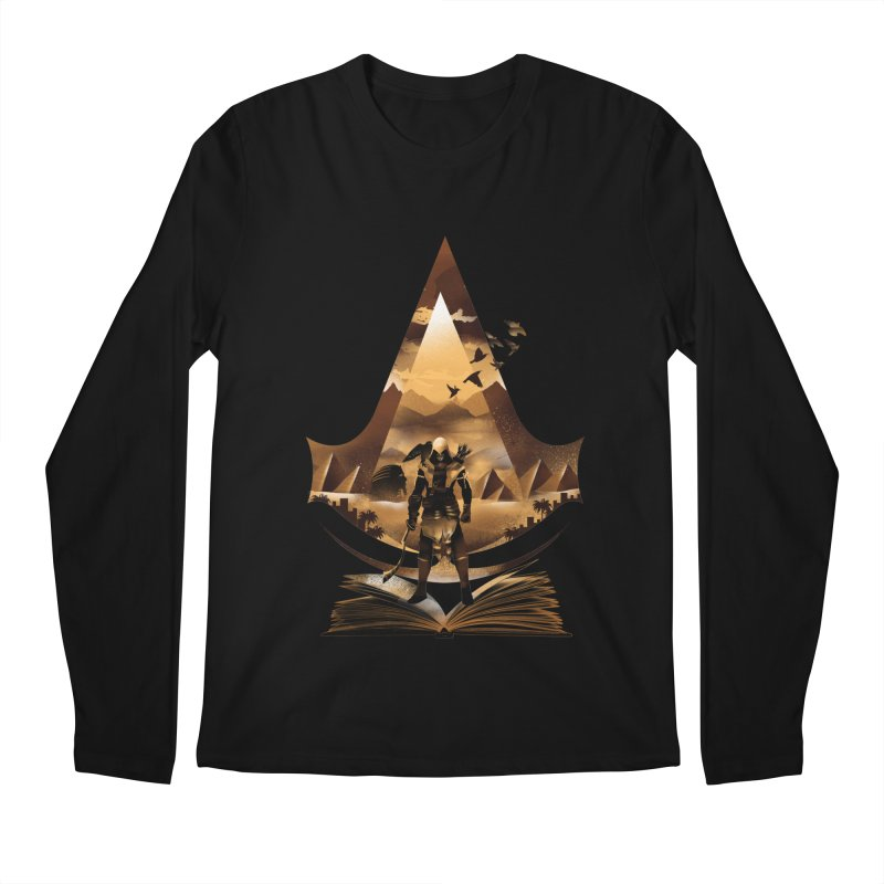 The Origin Men's Longsleeve T-Shirt by dandingeroz's Artist Shop