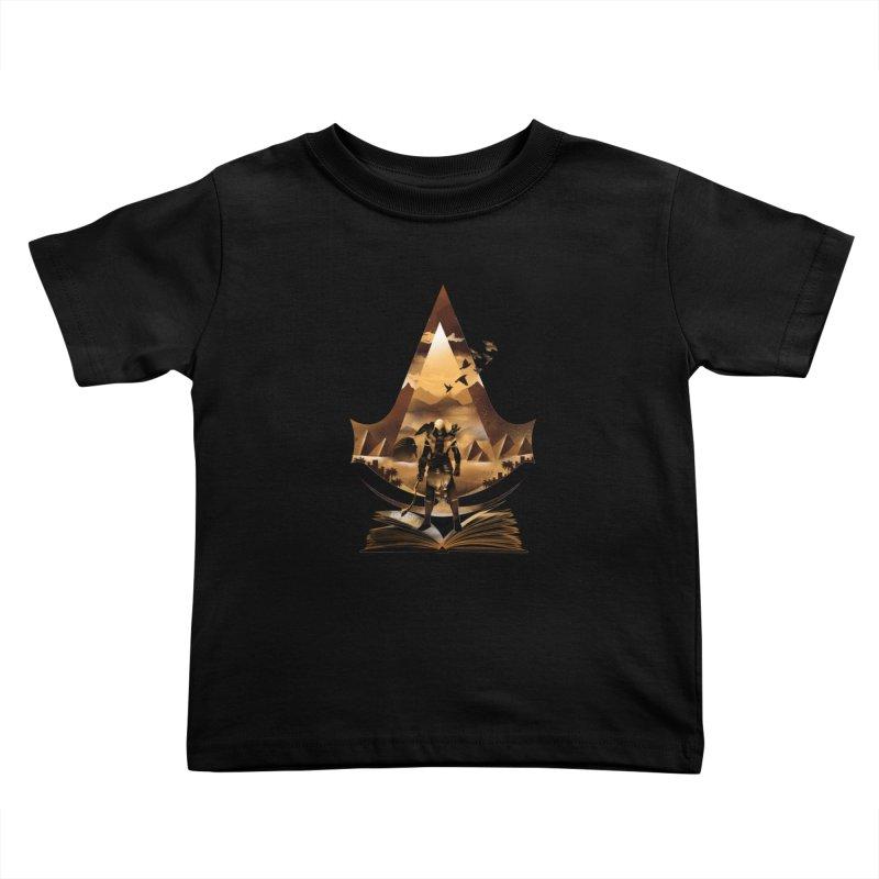 The Origin Kids Toddler T-Shirt by dandingeroz's Artist Shop