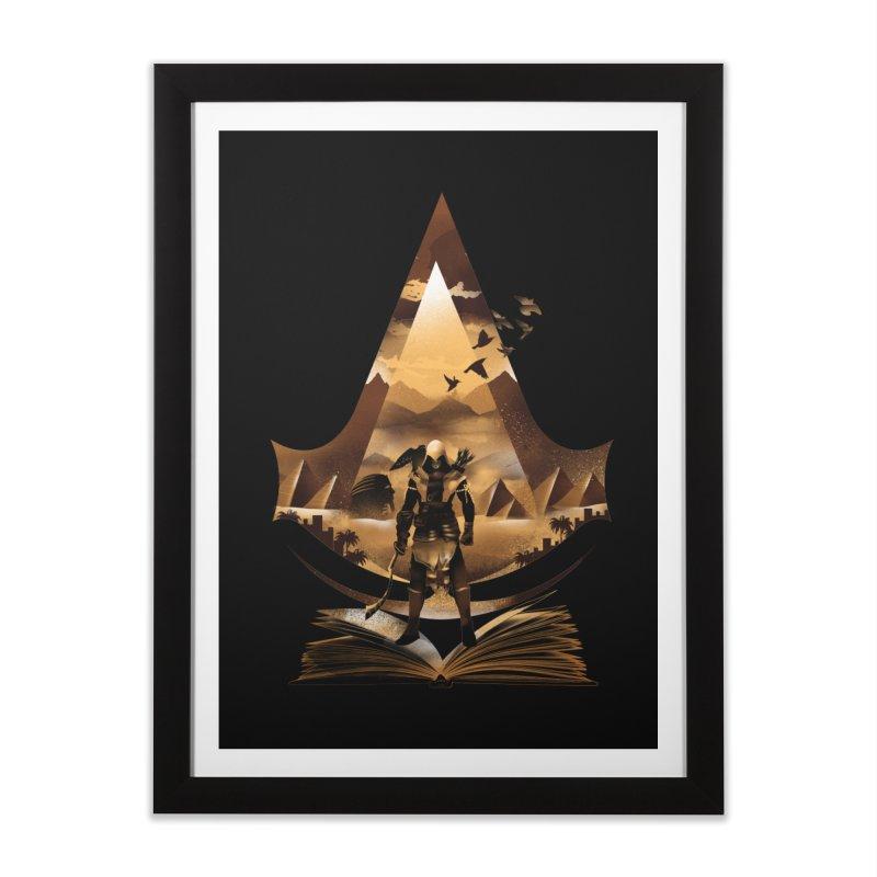 The Origin Home Framed Fine Art Print by dandingeroz's Artist Shop