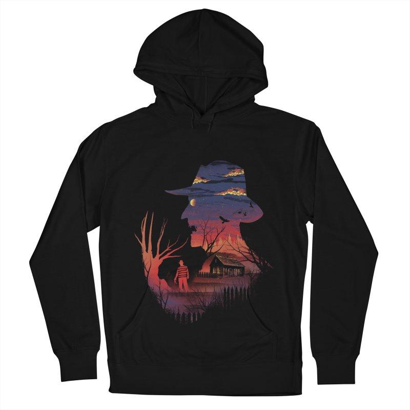 Nightmare on the Street Men's Pullover Hoody by dandingeroz's Artist Shop